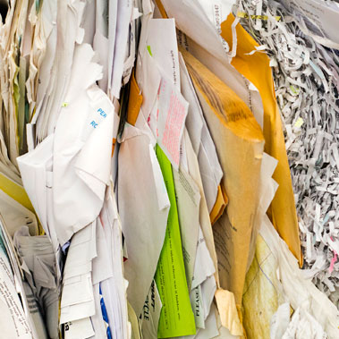 Misc Pile Stack of Papers to Shred - Home Office