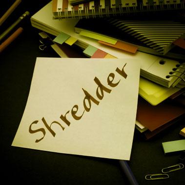 Shredder To-Do